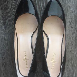 Cole haan formal black shoes
